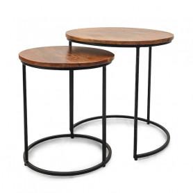Кофейный столик лофт набор ИНДУ АХРО