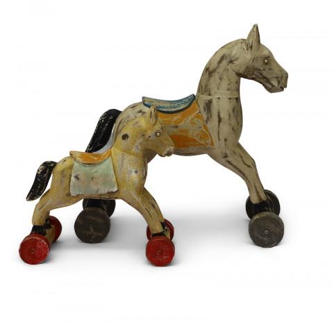 Деревянный декор, лошадка ЧИТРАВИЧИТРА