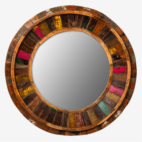 Круглое зеркало лофт, МАНИША