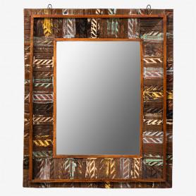 Зеркало в деревянной раме лофт, САРИКА II