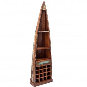 Деревянный стеллаж лофт САГАР